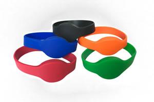 Silikonový náramek RFID